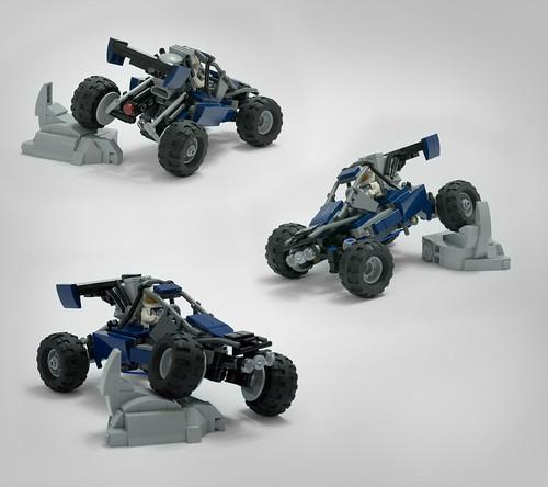 Racing buggy - angles