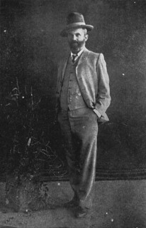 Coach driver, Jack Thompson, 1905