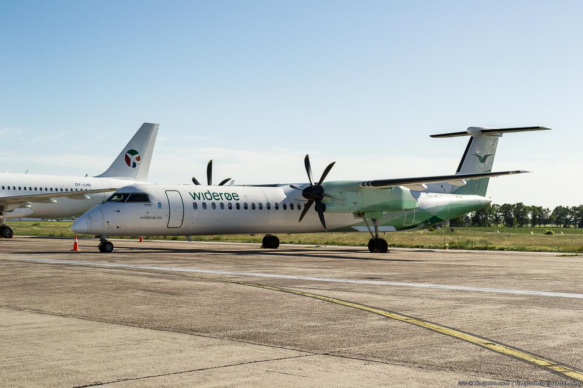 De Havilland Canada DHC-8-400 LN-WDJ Wideroe
