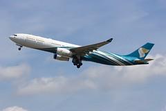 A330 A40-DD London Heathrow 15.06.18