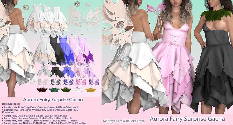 Vanilla Bae ~ Ads Aurora Fairy Suprise Gacha