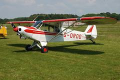 G-OROD Piper PA-18-150 (18-7856) Popham 080608