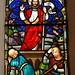 Beckingham (Notts), All Saints' church east window detail