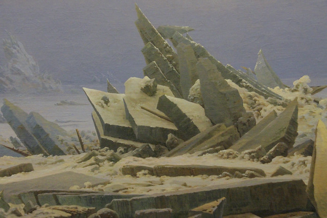 Detail - The Sea of Ice, Casper David Friedrich, c.1823-4