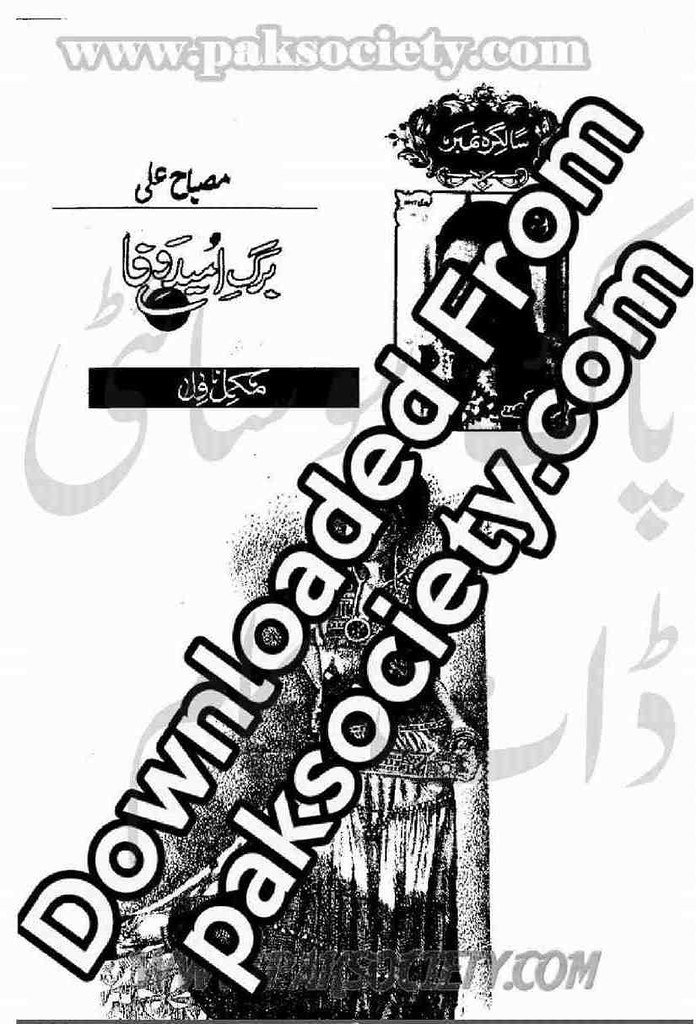Barg e Umeed e Wafa Complete Novel By Misbah Ali Syed