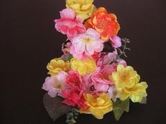 Мишкин Григорий (рук. Панова О.Е., Медведева Ю.Ю.) - Цветы для мамочки моей
