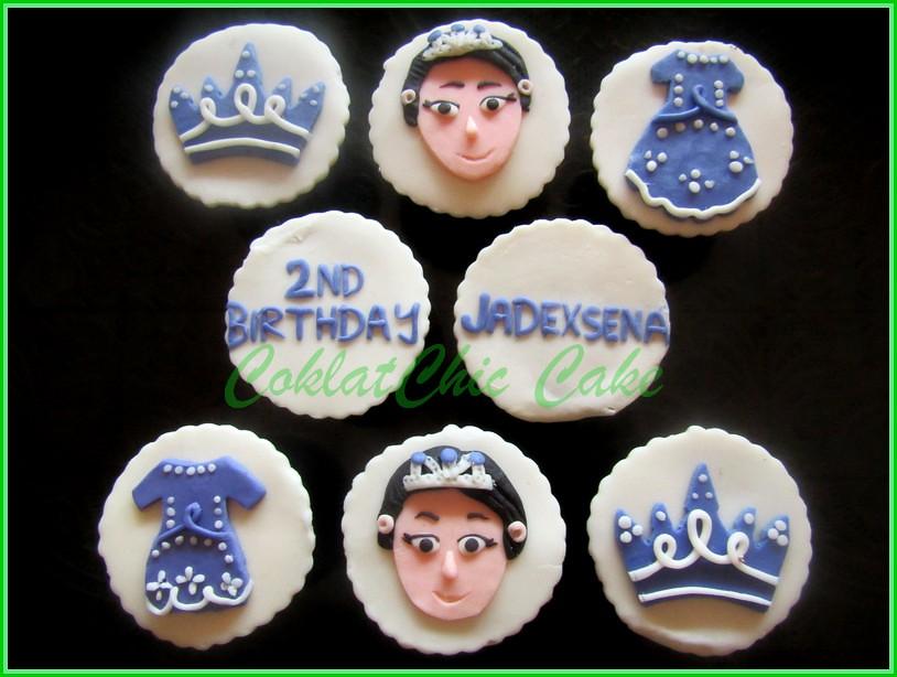 Cupcake set Sofia
