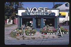 Vose Florists, Route 122, Cumberland, Rhode Island (LOC)
