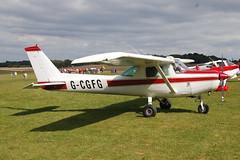 G-CGFG Cessna 152 (152-85724) Popham 130909
