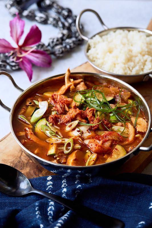 Kimchi Stew // Kimchi-jjigae {gluten-free, paleo}