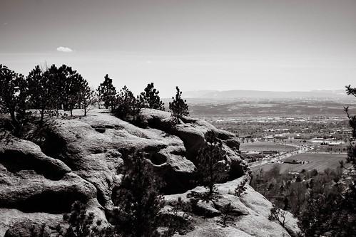 rimrock sandstone yellowstone montana monochrome billings zimmerman