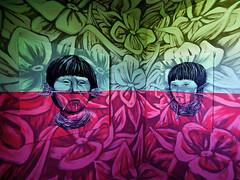 Street Art City - Chambre peinte par Dinho Bento