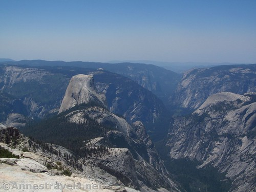Half Dome and Yosemite Valley from Clouds Rest, Yosemite National Park, California