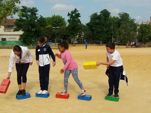Juegos cooperativos Colegio Orippo y María Zambrano Proyecto Erasmus Local