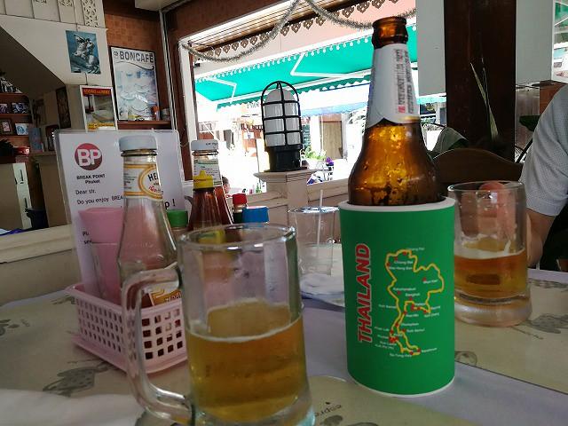 <p>やっぱりビールは大瓶で2本</p>