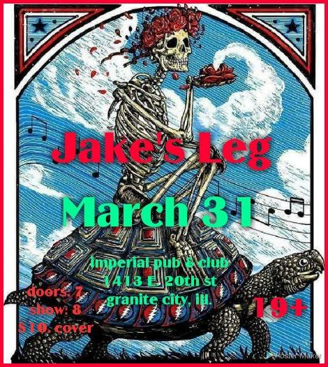Jake's Leg 3-31-18