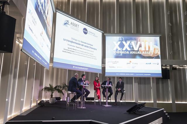 XXVIII Jornada Anual ASSET Barcelona 12 de junio 2018 | La transformación en la gestión financiera