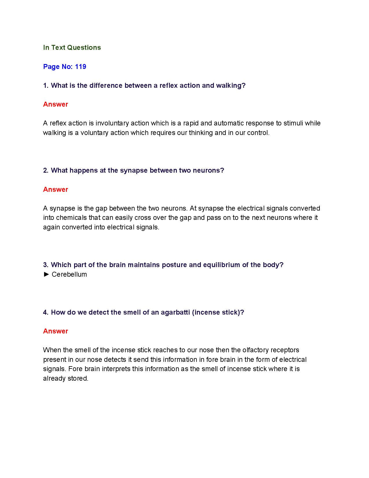 NCERT Solutions for Class 10th_ Ch 7 Control and Coordination Science-page-001