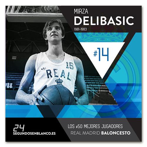 #14 MIRZA DELIBASIC
