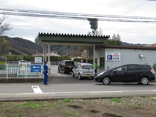 福島競馬場の第二駐車場