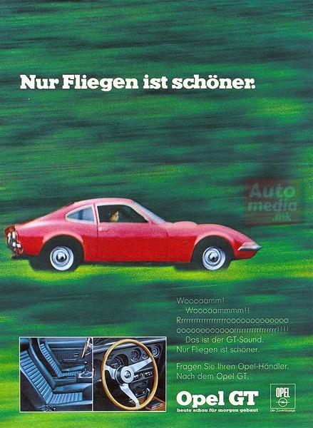 Opel GT istorija 8