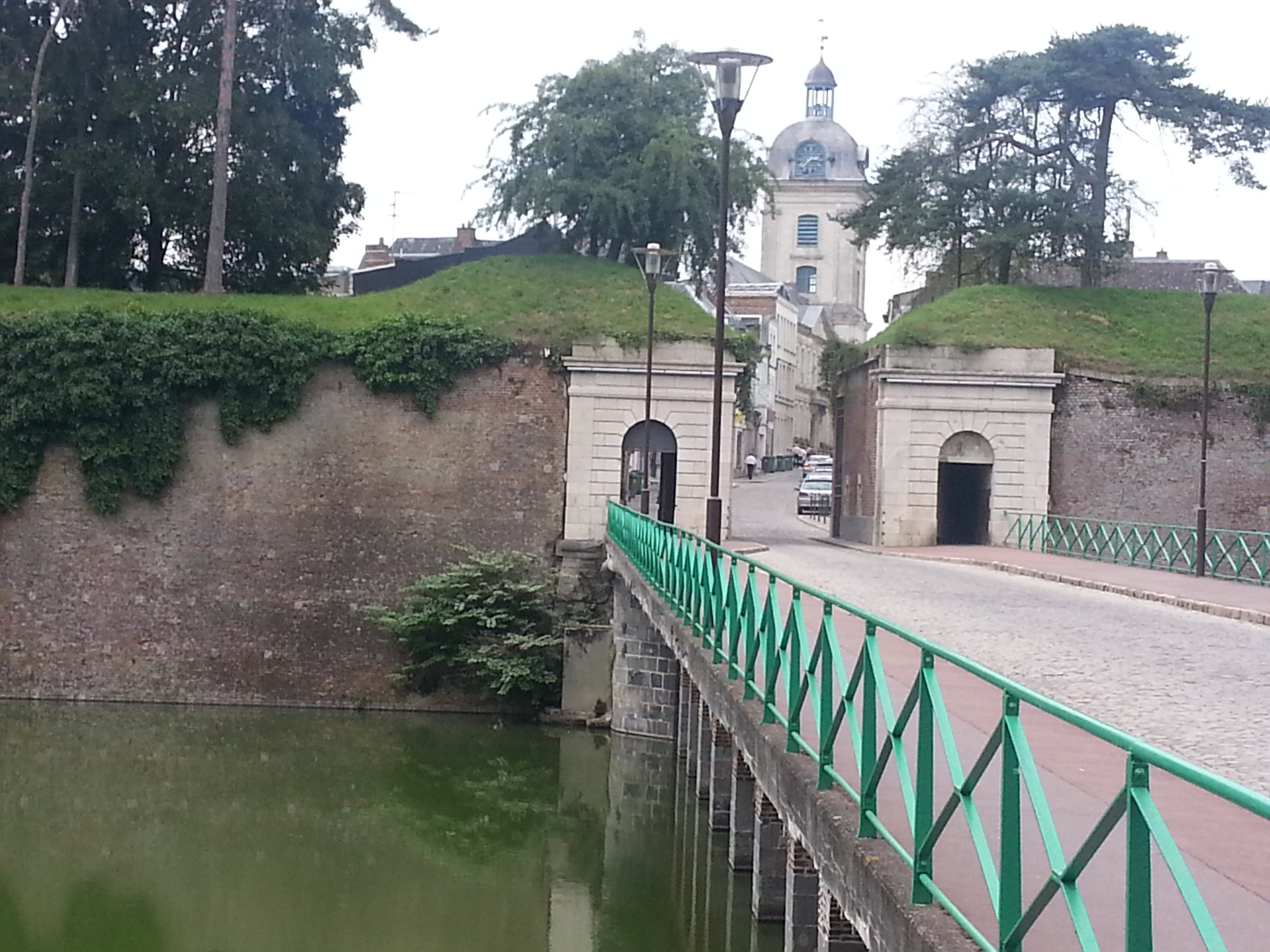 The Fauroeulx gate. part of the fortifications created by Vauban in the seventeenth century, was the only gate in the ramparts of Le Quesnoy not destroyed during World War II.