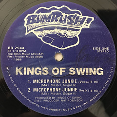 KINGS OF SWING:STOP JOCKIN' JAMES(LABEL SIDE-B)