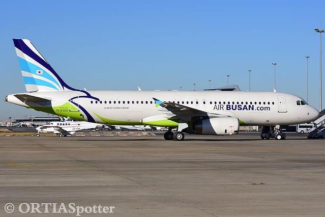 Air Busan A320-232 HL8309