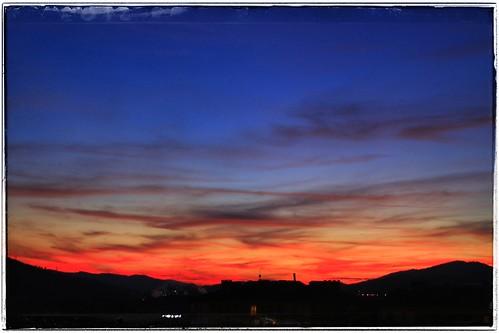 Anochecer por Durango