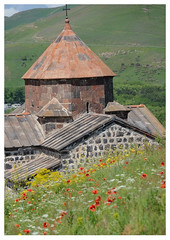 Church (Hayravank Monastery) at Lake Sevan