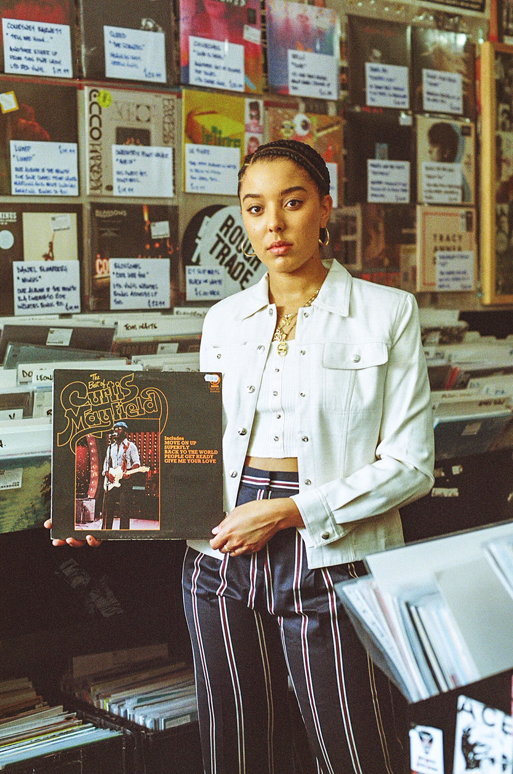 Record Shopping with Grace Carter