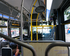 Riding Down Market St in a King County Metro Route 44