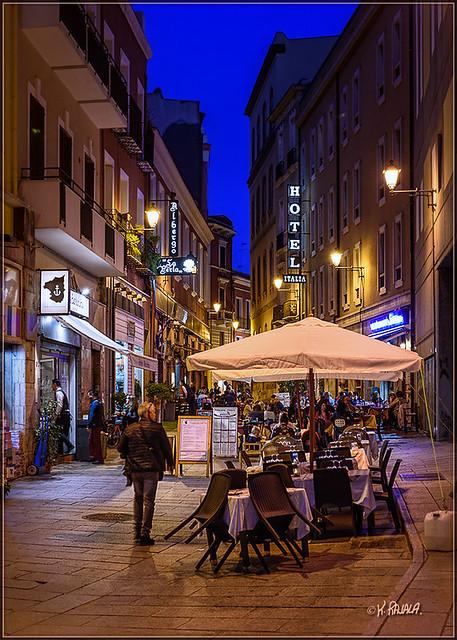 Cagliari Evening