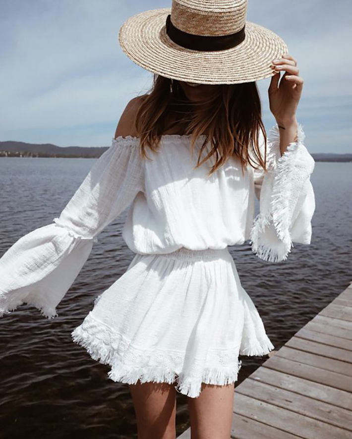 Outfits With Straw Hats  Besugarandspice - Fashion Blog-3758