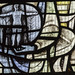 Scarborough, St Mary's church, East window detail by Jules & Jenny