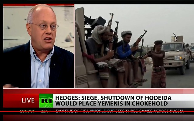 Chris Hedges: 80% of the Yemen Population Needs Humanitarian Aid