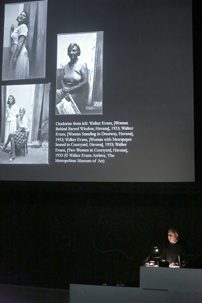 "John Tagg's lecture, ""Knocking Around between Money, Sex, and Boredom: Walker Evans in Havana and New York City."""