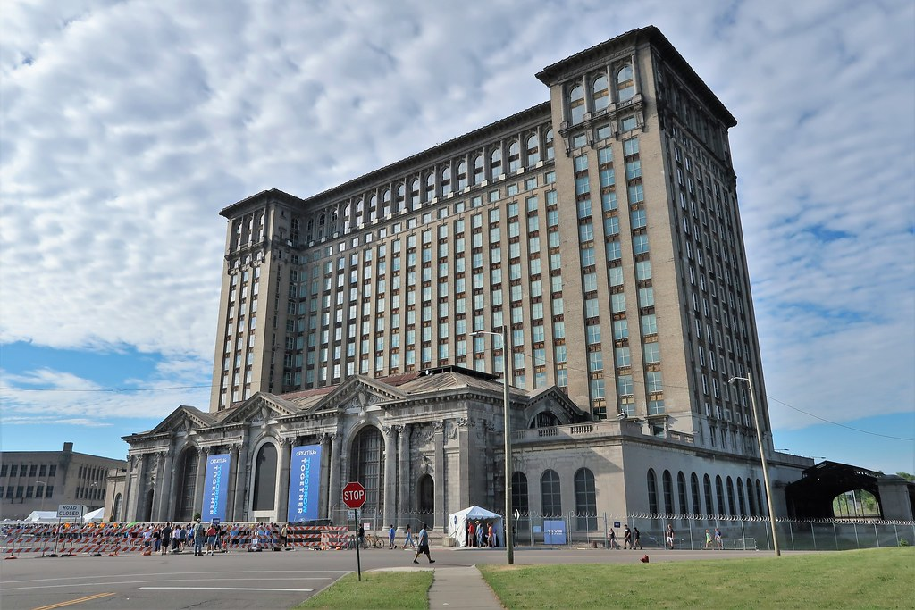 2018 Michigan Central Station (Depot), Ford Motor Company Open House, Detroit, MI - 6/24/18