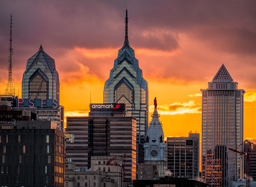 Philadelphia Skyline @ 300mm