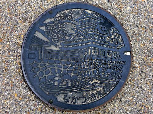 Nakatsu Oita, manhole cover 3 (大分県中津市のマンホール3)