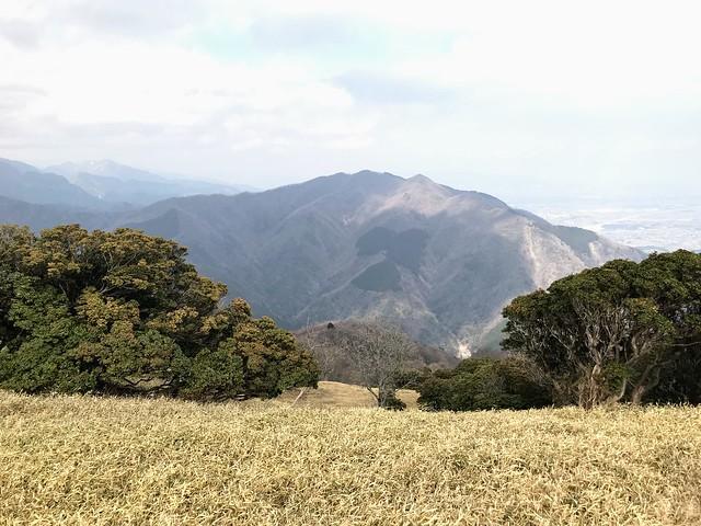 入道ヶ岳 北の頭より雲母峰