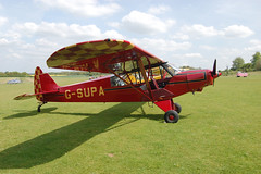 G-SUPA Piper L-21B-150 (18-5395) Popham 010509