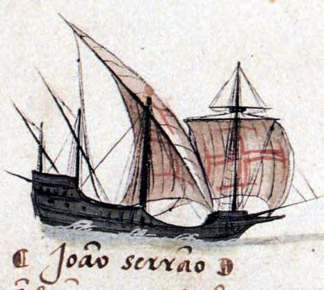The caravel ship introduced in the mid-15th century