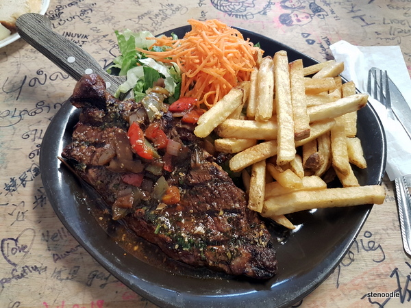 Grilled Buffalo Ribeye