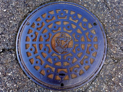 Ikoma Nara, manhole cover 6 (奈良県生駒市のマンホール6)