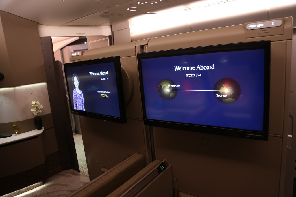 Singapore Airlines First Class Suites 21