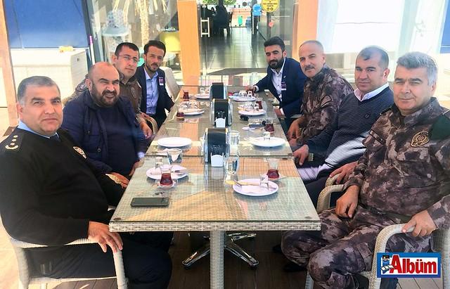 Antalya Özel Harekat Şube Müdürü Cevdet Arıcı, Alanya Emniyet Müdürü Haşim Çakmaklı, şehit kardeşi Mustafa Nazilli, Ömer Kozan