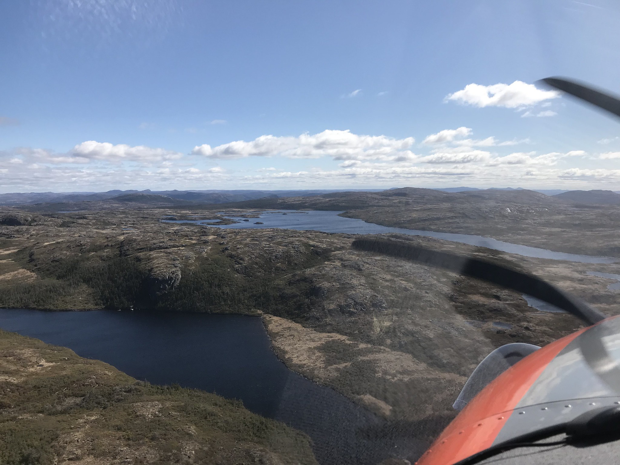 Interior Newfoundland near the south shore, May 2018 Photo Credit: USFWS