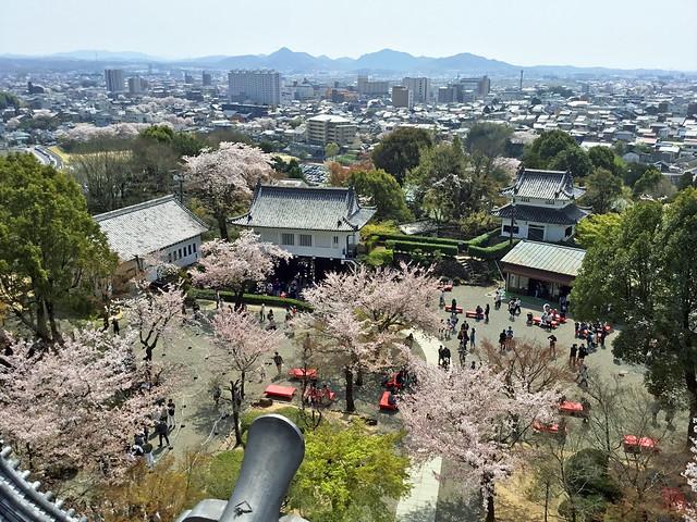 犬山城 天守閣最上階より南東方向を眺める IMG_2695_2