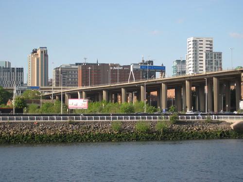 Blocky urban development in the city centre